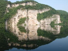 余庆县飞龙湖美丽景色----余庆飞龙  蓄势腾飞