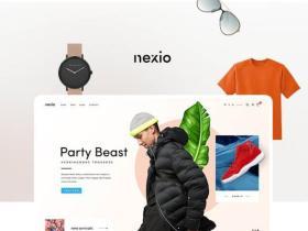 WordPress主题Nexio1.0.7商城主题免费下载